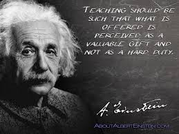Teaching - einstein quote